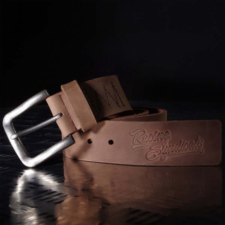 Leather belt Racing Syndicate