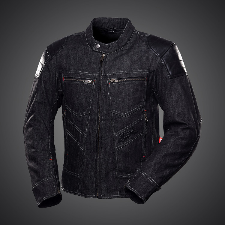 Rowdie Denim Jacket Black