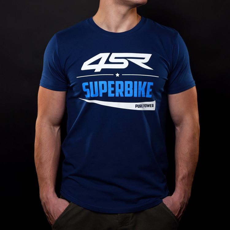T-Shirt Superbike Blue
