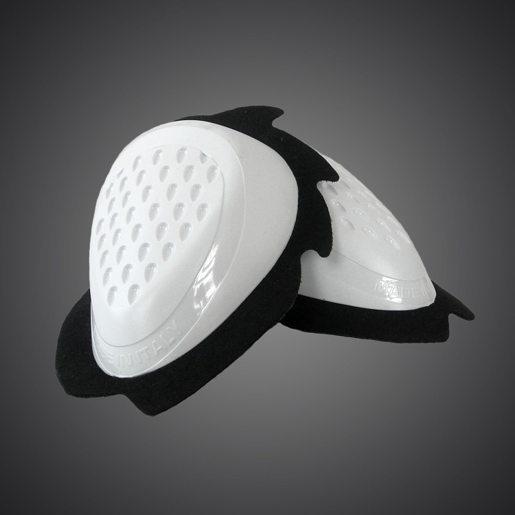 Knee sliders - white