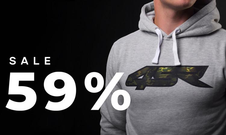 Hoodies sale 59% off