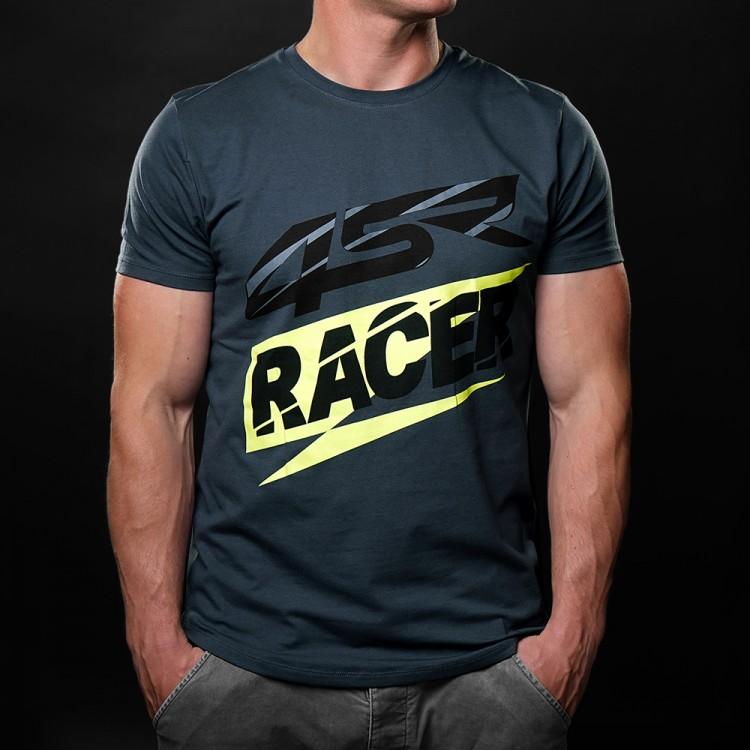 4SR T-Shirt 3D Racer Grey
