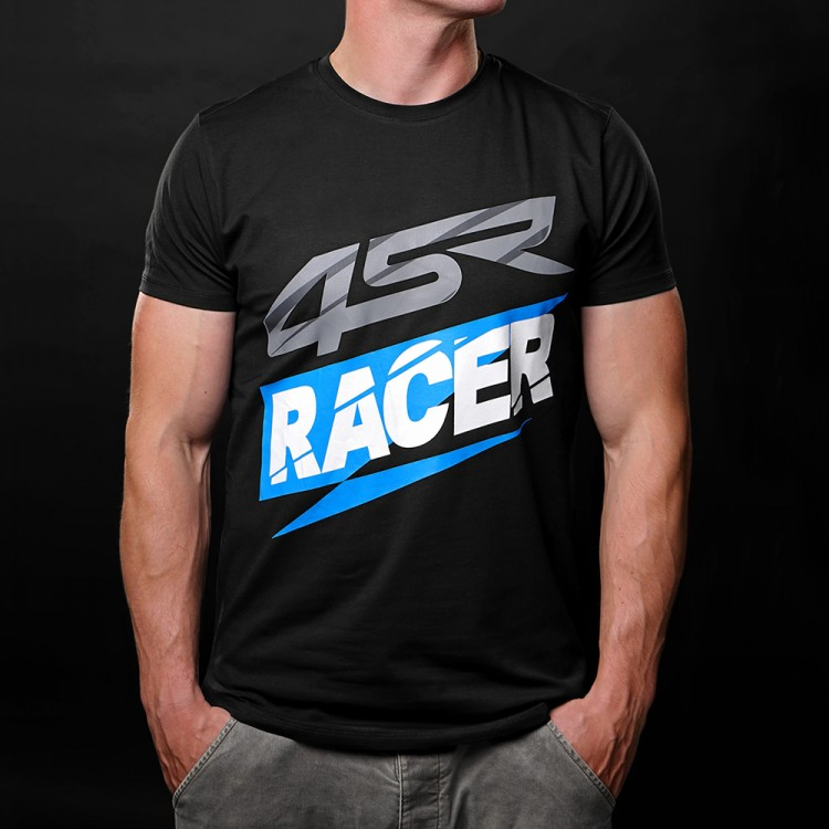 4SR T-Shirt Racer Black