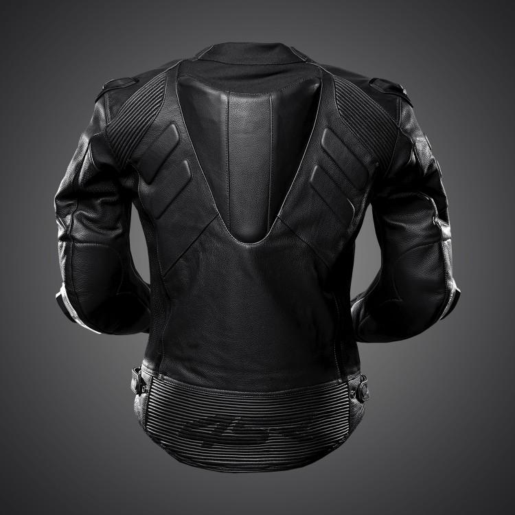 4SR Street & Sportbike Motorcycle Jacket TT Replica Black Series