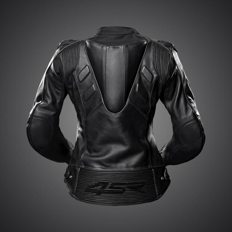 4SR Street & Sportbike Motorcycle Jacket TT Replica Lady Black Series