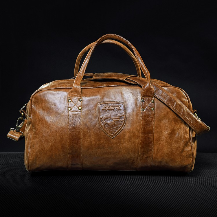 4SR stylish and classy leather travel bags