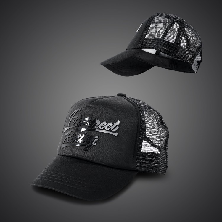 4SR Black Series Caps - Kids size