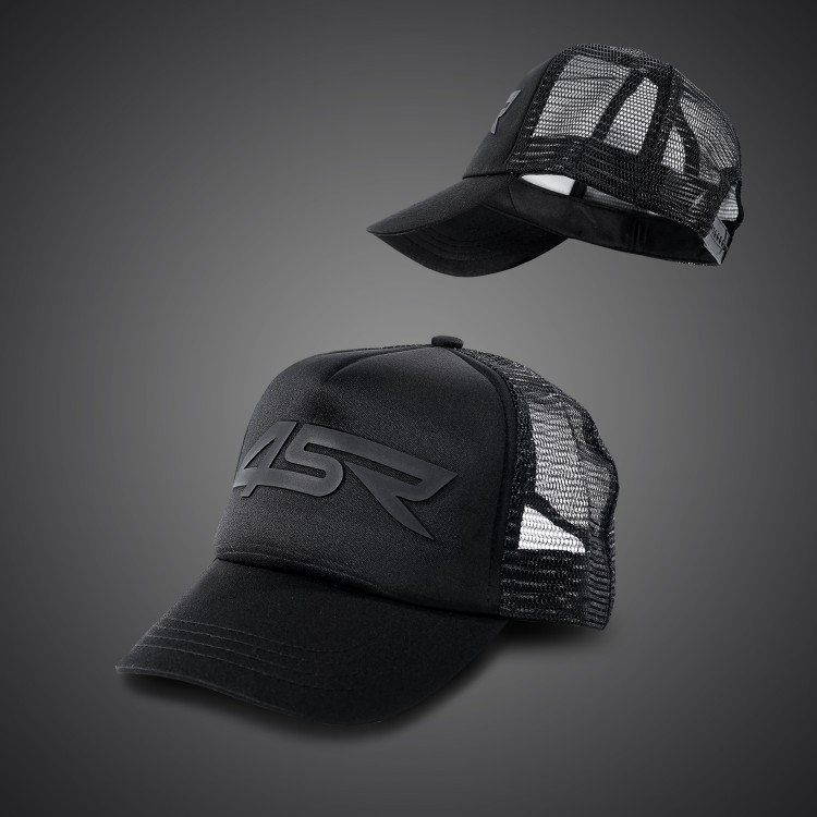 4SR Black Series Caps - Kids size