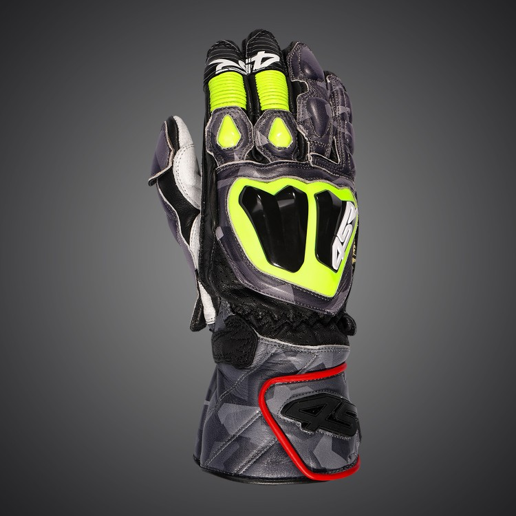 Motorcycle racing gloves Stingray Race Spec Camo by 4SR