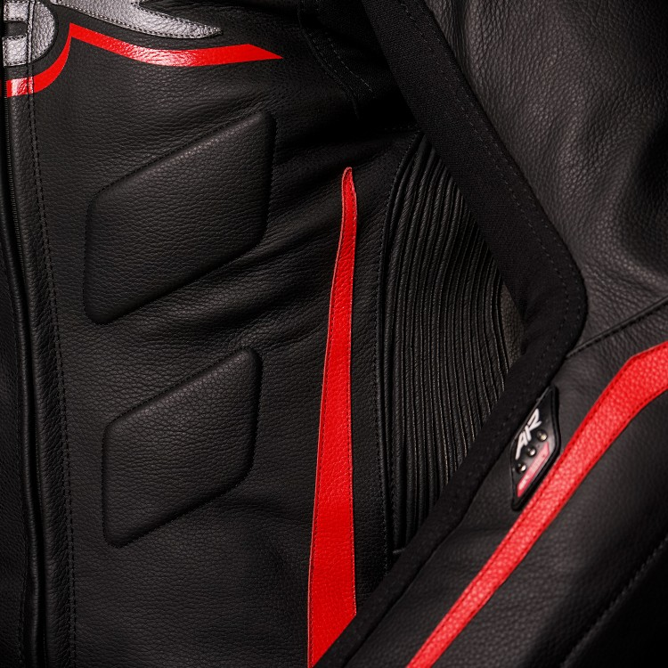 4SR Motorcycle Leathers - Diablo Airbag Ready 2 Piece Suit