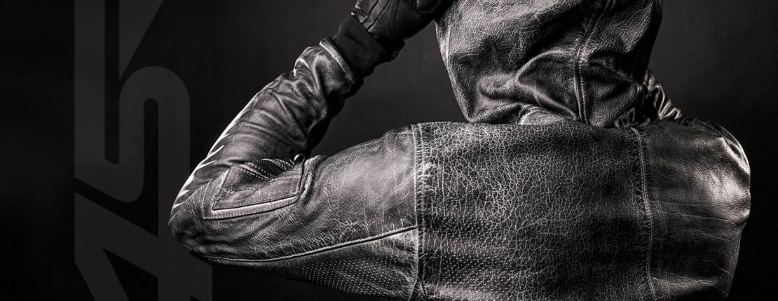 4SR Motorcycle Leathers - leather Hoodie Jacket
