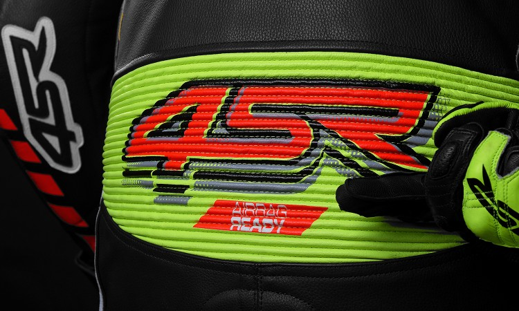 4SR Airbag Ready® - Airbag Ready 1PC leathers can be used with or without an Airbag