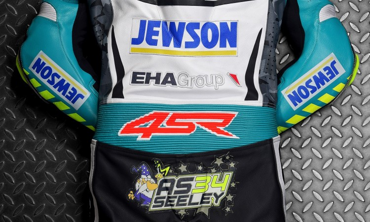 4SR Motorcycle clothing and protective gear - Alastair Seeley leathers