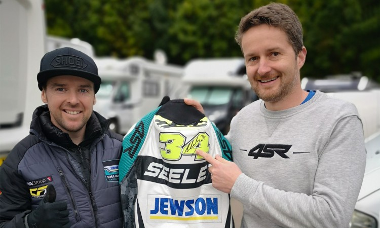 4SR Motorcycle clothing and protective gear - Alastair Seeley